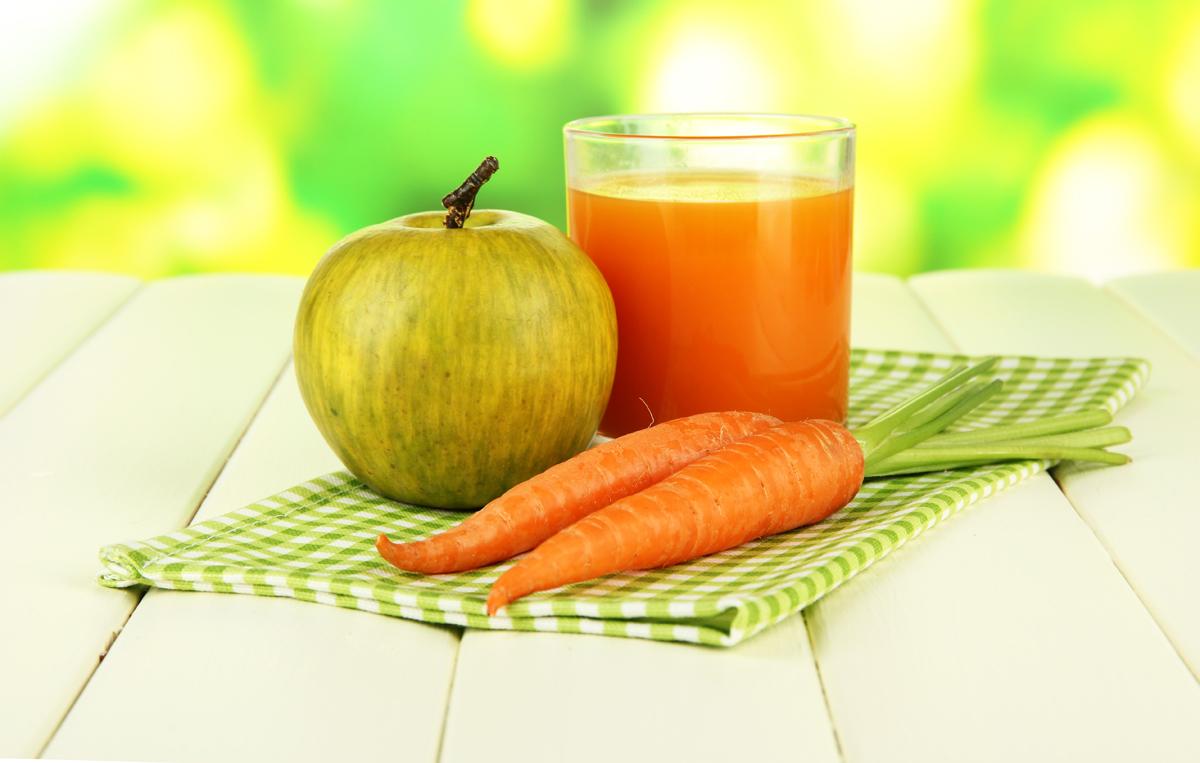 zumos de zanahoria para adelgazar